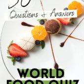 world food quiz