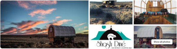Sheep Wagon Glamping near Grand Canyon