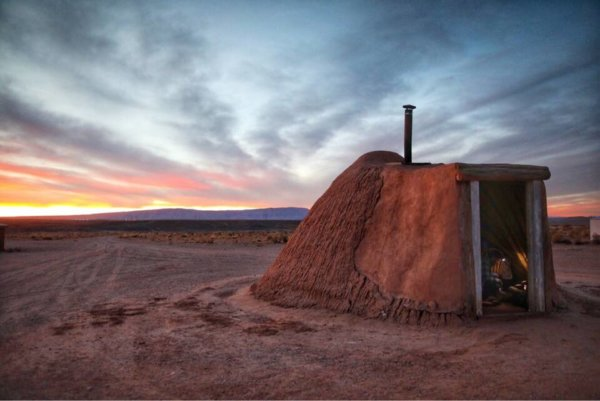 Stay in a Navajo Hogan near the Grand Canyon