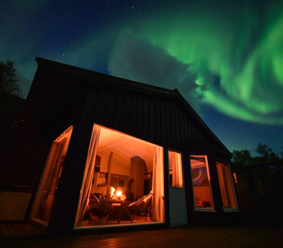 Aurora Dream Cabin in the Woods - places to stay in Tromso