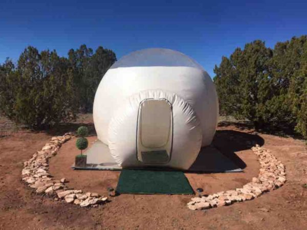 Stargazing Bubble Tent Grand Canyon