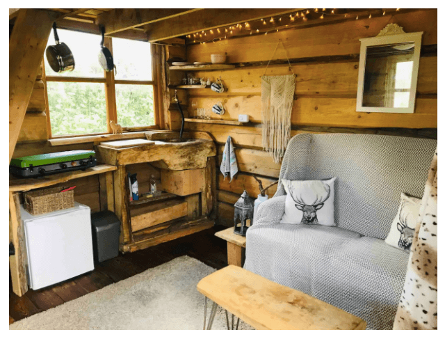 new forest glamping