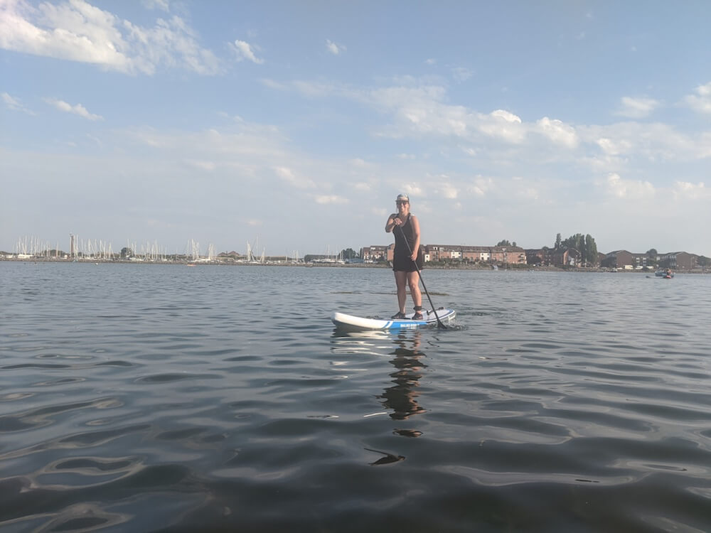 Paddle boarding in Hampshire