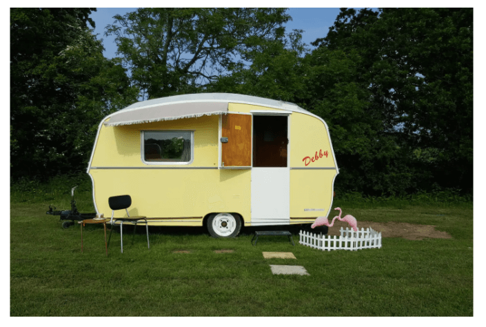 caravan on the isle of wight