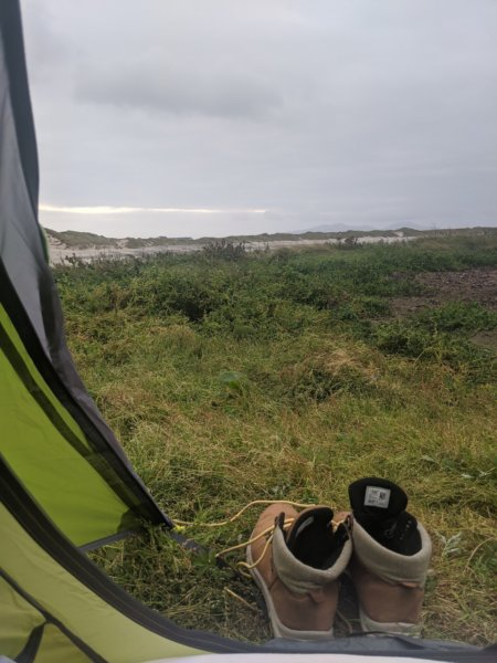 scotland wild camp
