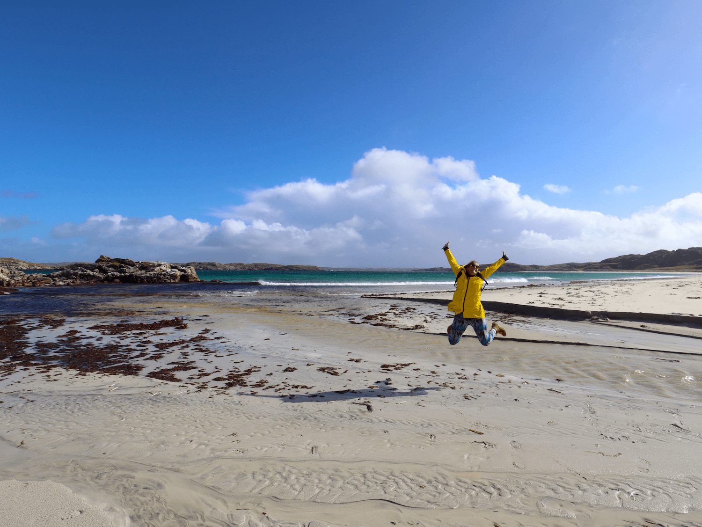 Uig Beach in Outer Hebrides
