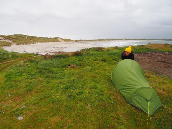 my tent wild camping