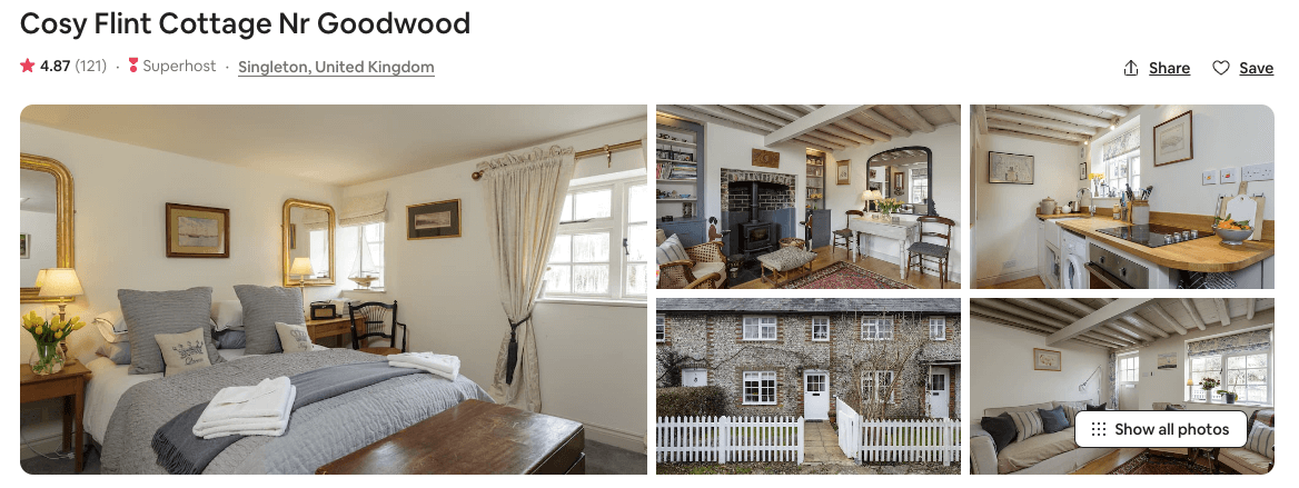 Cosy cottage in the South Downs