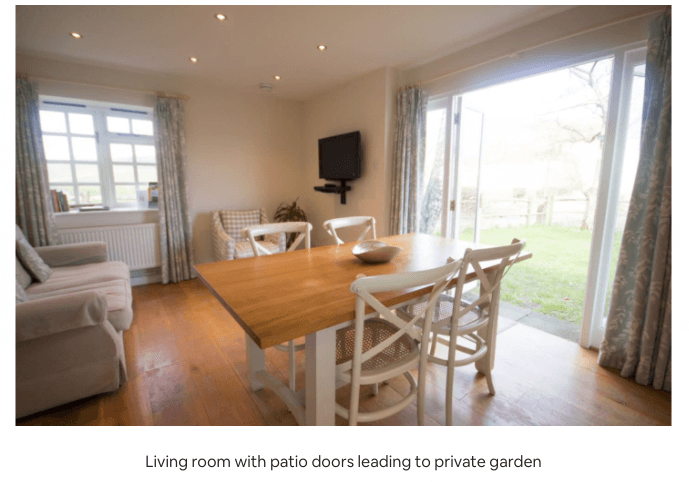 self catering cottages south downs
