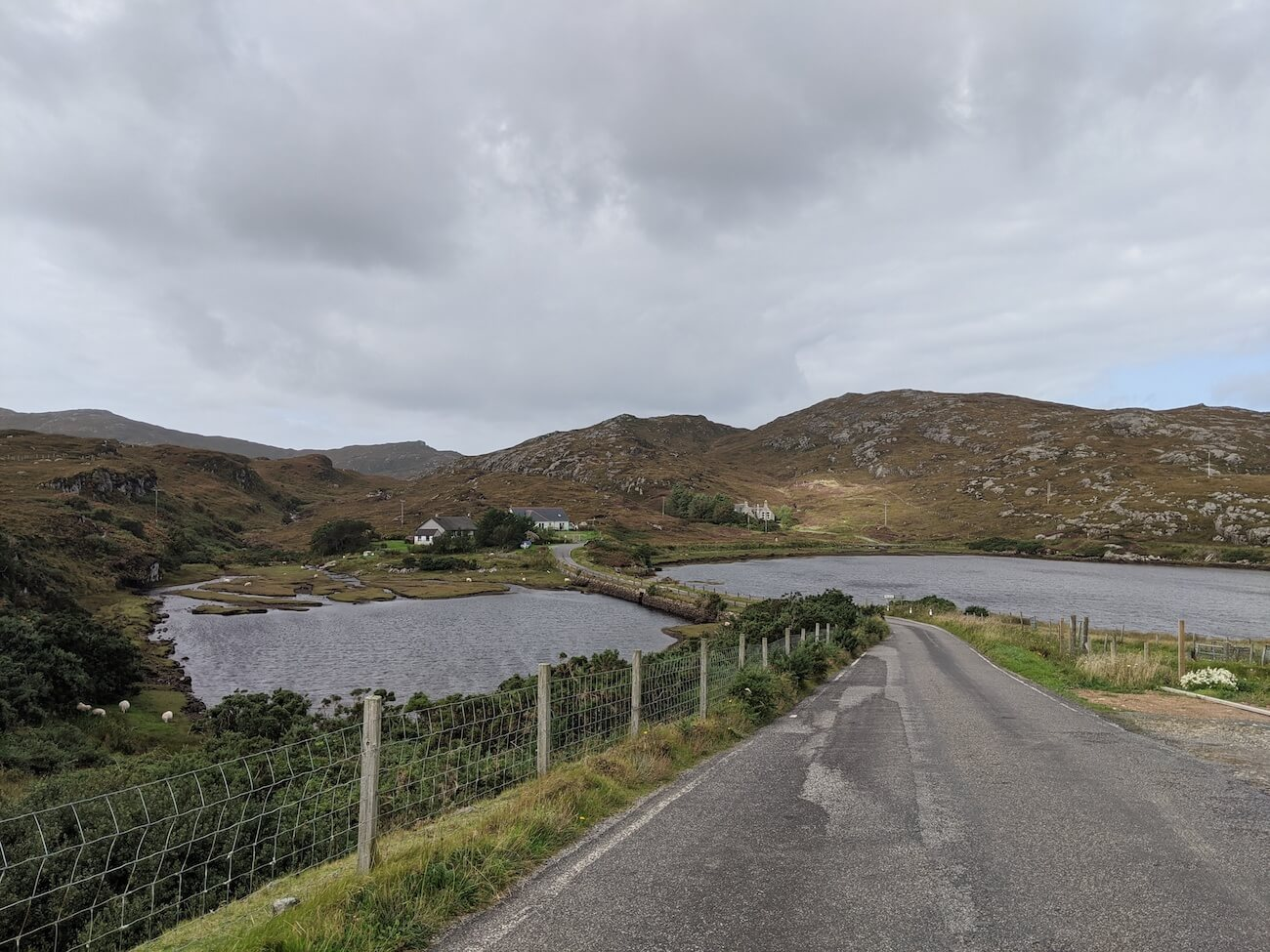 Road trip in the outer hebrides