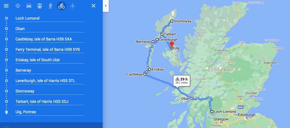 Road trip Outer Hebrides