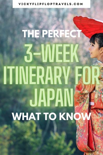 japan itinerary 3 weeks