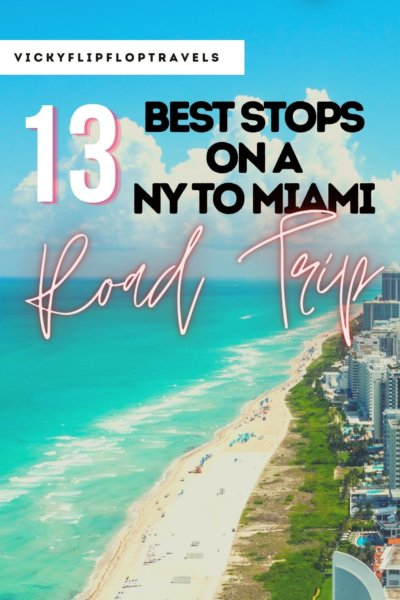 ROAD TRIP FROM NEW YORK TO MIAMI