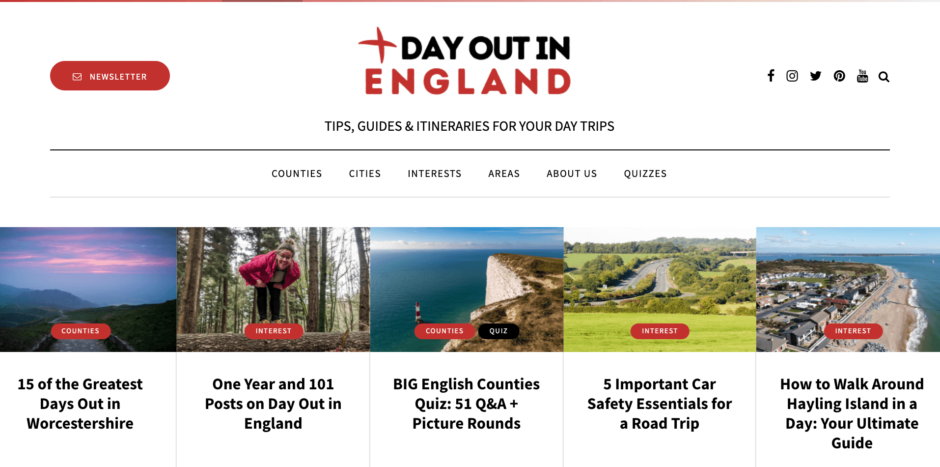 Write for Day Out in England