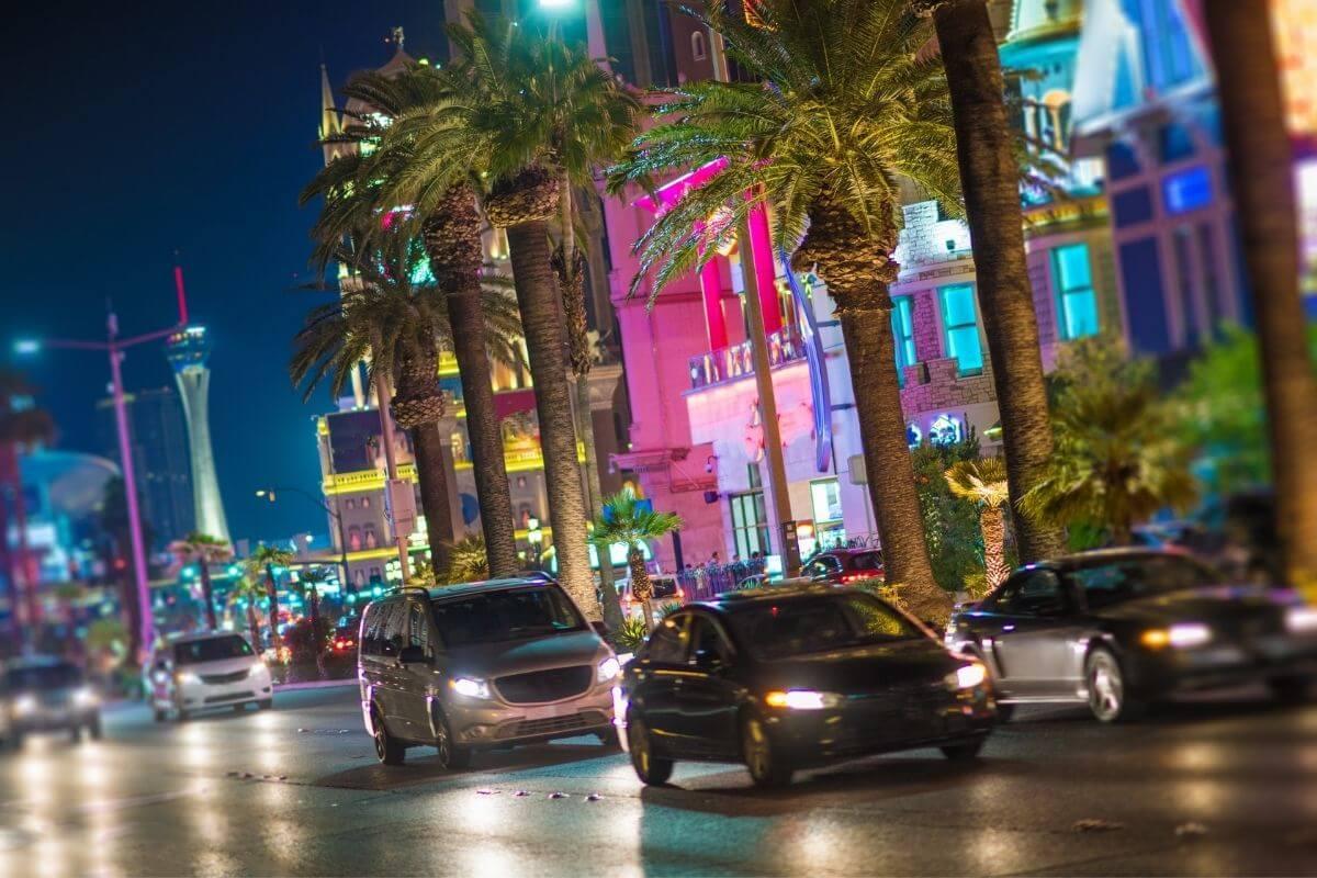 Vegas driving