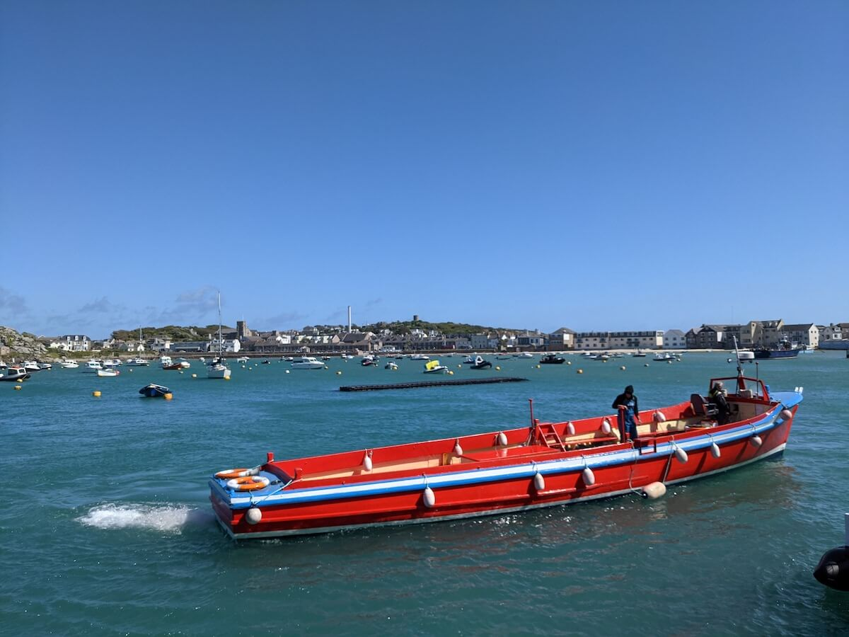 boat trip from st mary's