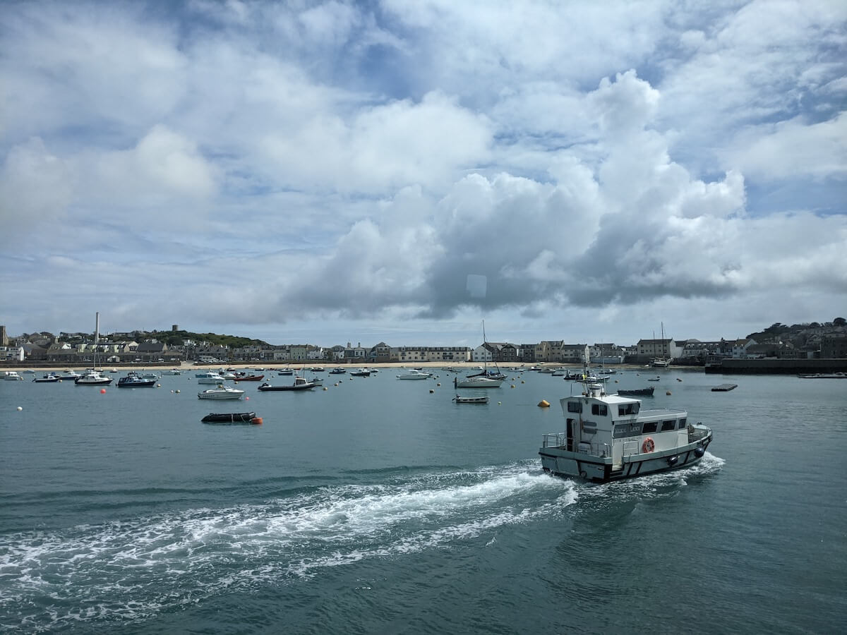 St Mary's boat trip