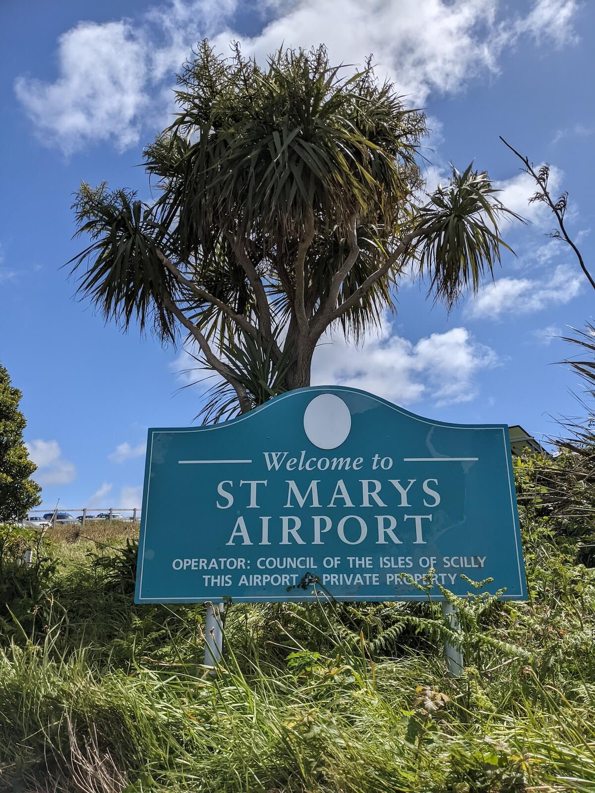 Airport on the Isles of Scilly