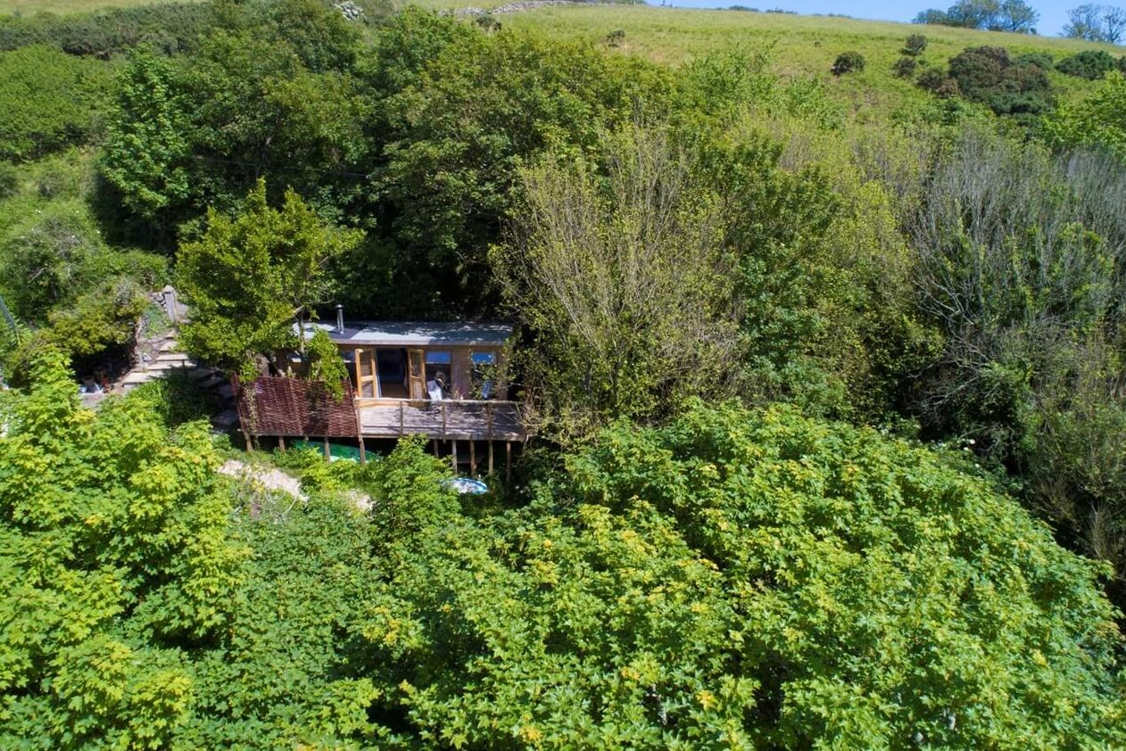 Glamping in the treetops